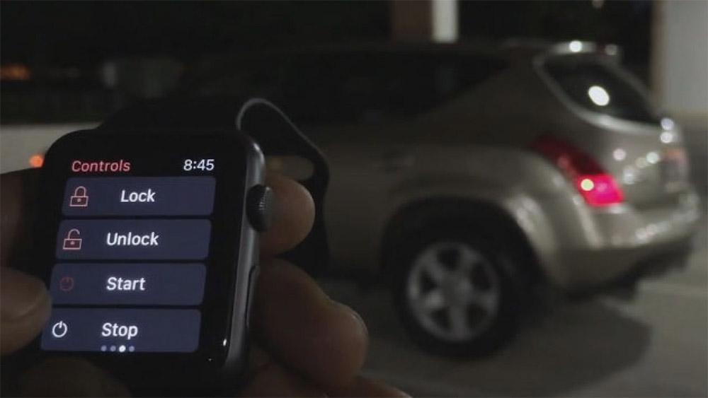 Открытие автомобилей через NFC