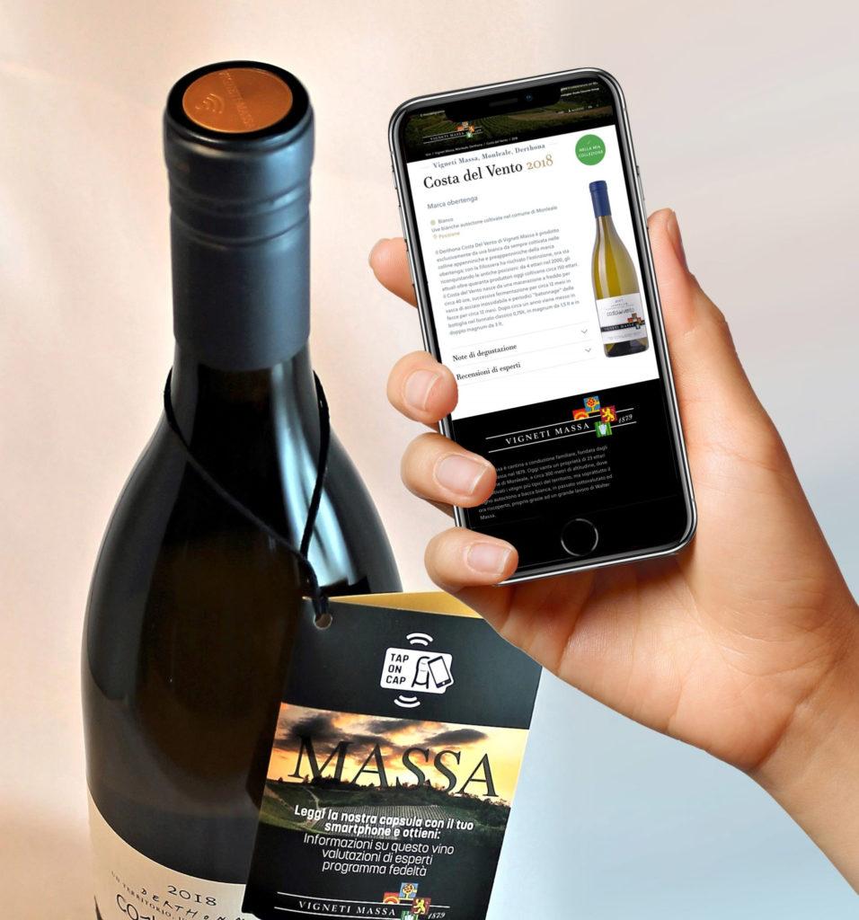 NFC вино, пробки бутылочные